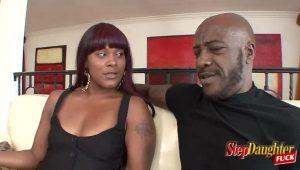 Ebony Hotties Sharing Stepdads Cock | HotPorn.tube