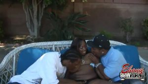 Skyy Black Seducing Two Guys With Her Giant Boobs | HotPorn.tube